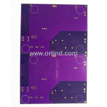 Purple printed circuit board